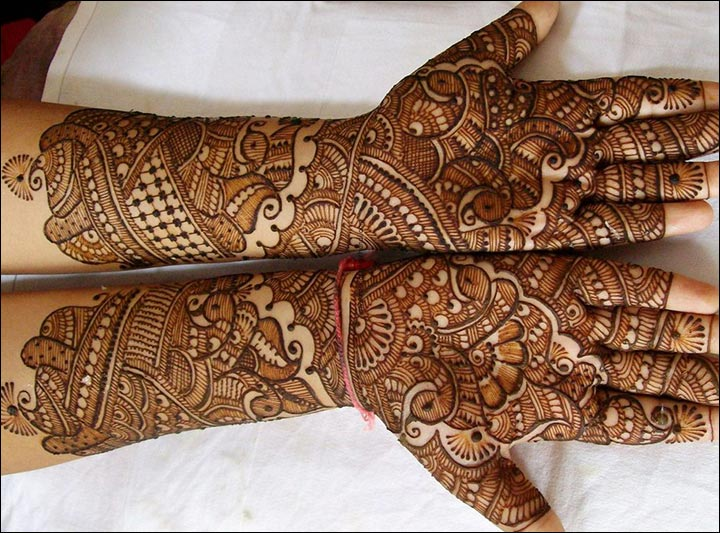 Mehndi Design Arabic Full Hand Images