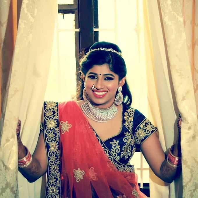 indian bridal makeup | bridal eye makeup | photo gallery