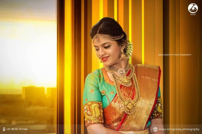 south indian bridal makeup | indian bridal makeup | photo
