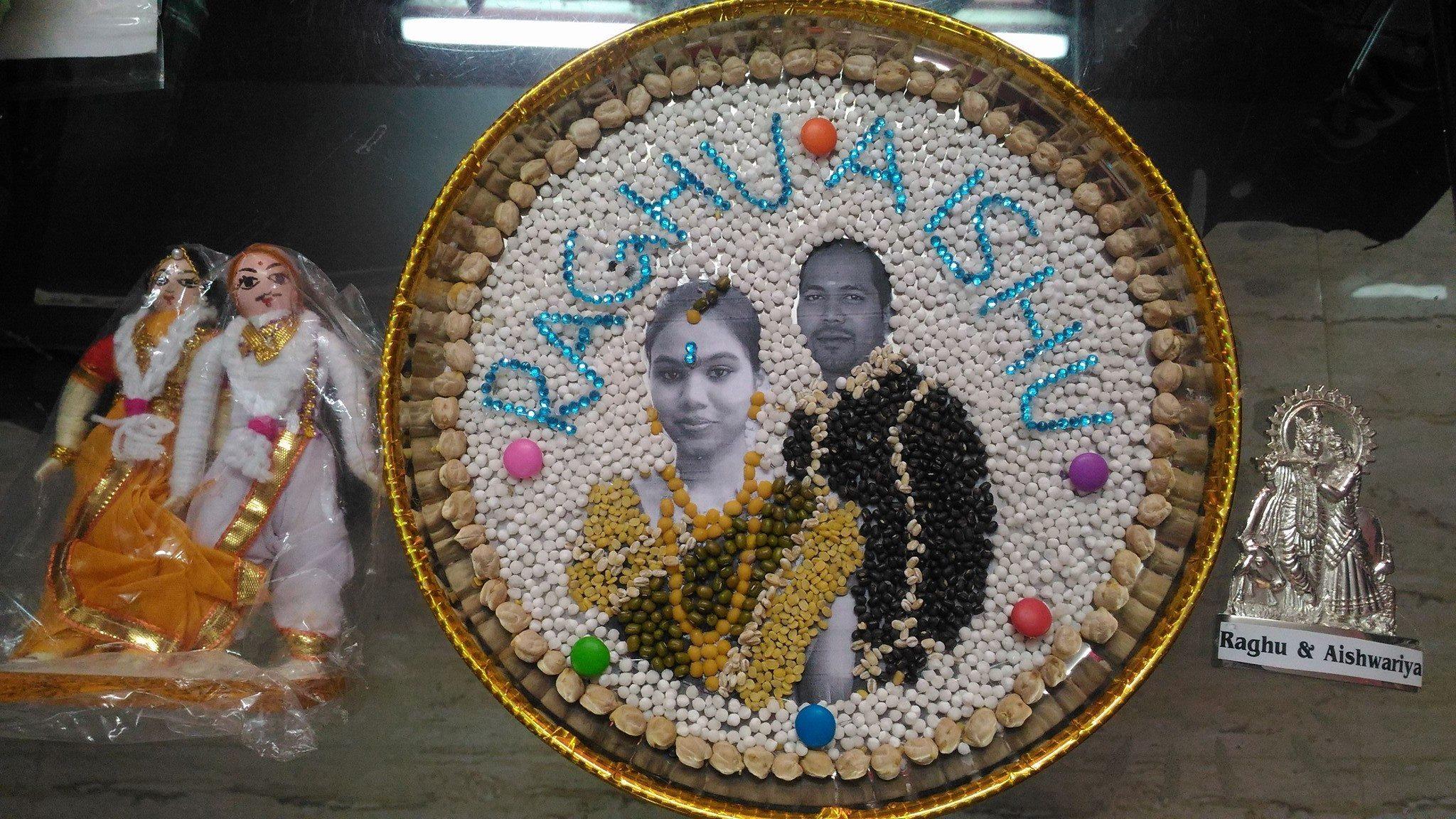 Chandras Wedding Aarthi Plates Amp Return Gifts Wedding