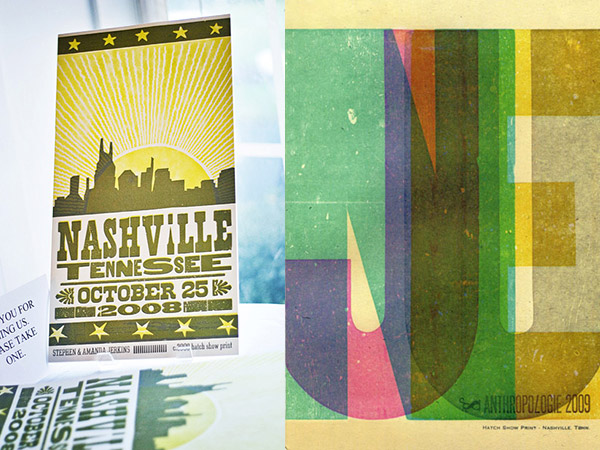 Local Paper Nashville S Hatch Show Print