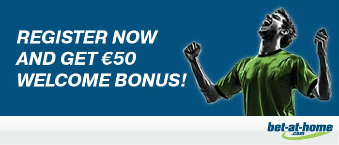 Bet-at-home welkomstbonus