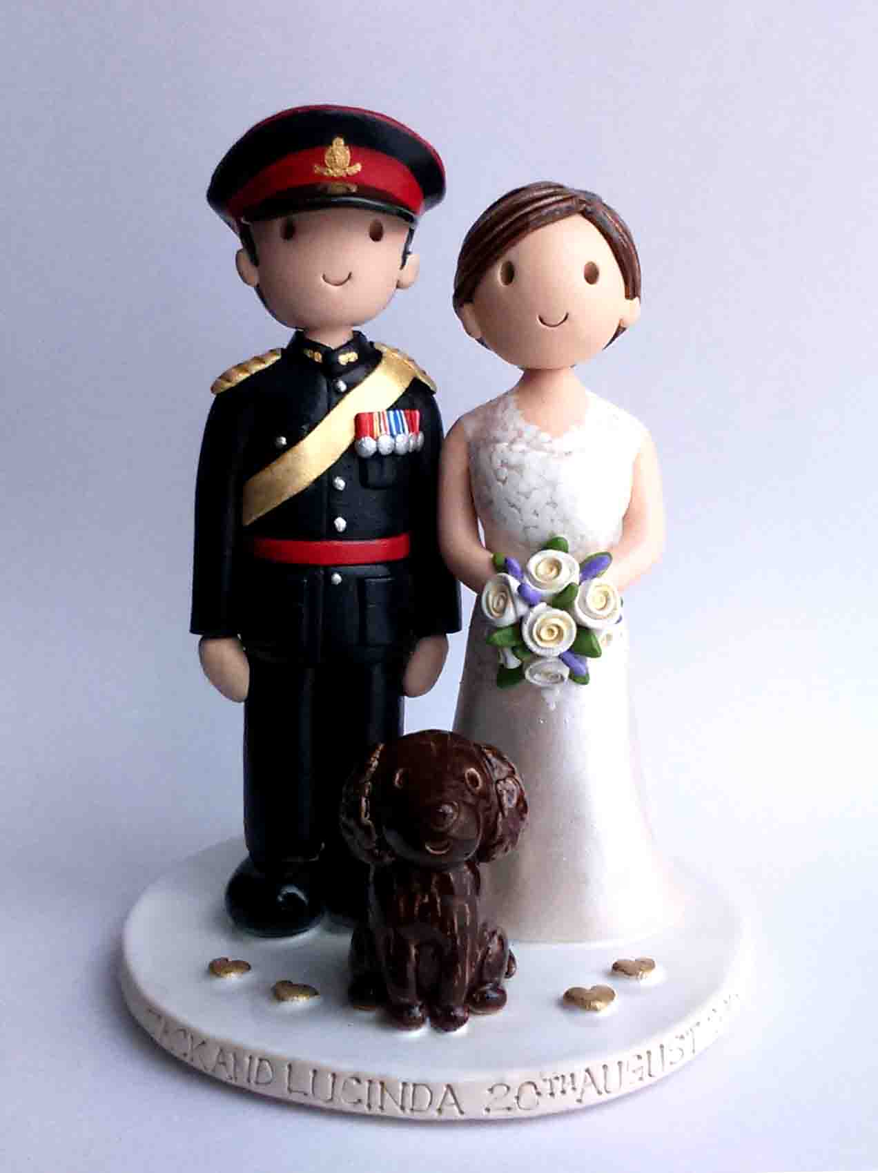 Wedding Cake Toppers Gallery Examples Of Toppers We Have Made