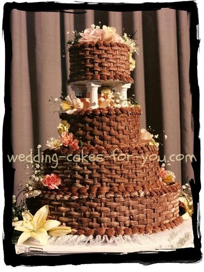 Puff Cream Cake Chocolate