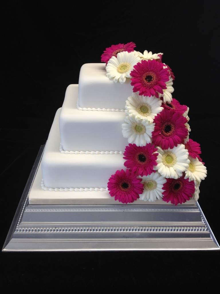 Square Wedding Cakes Images
