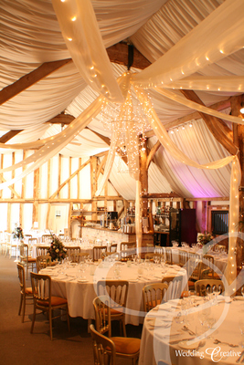 Venue Dressing at South Farm  Wedding Creative