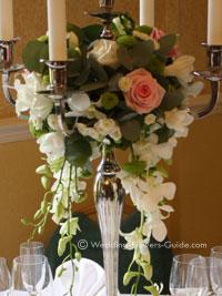 Real Weddings Sams Rose Wedding Flowers
