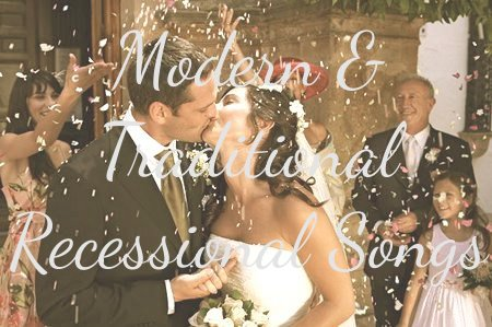 Non Traditional Wedding Processional Songs