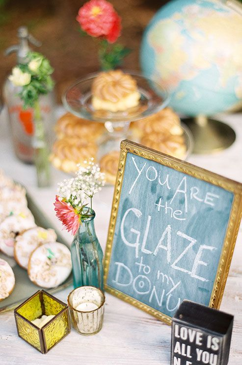 25 Cool and Fun Donut Bar Ideas For Your Wedding  Wedding