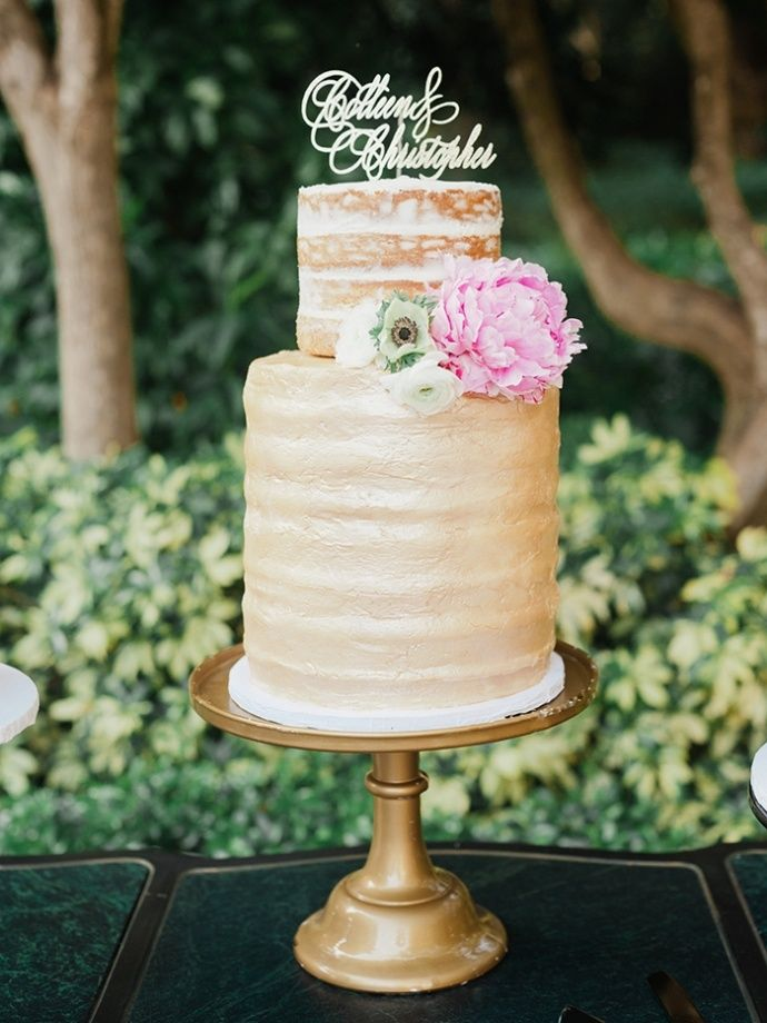 37 Delicious Semi Naked Wedding Cakes Wedding
