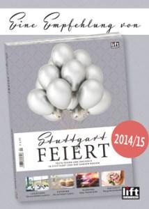 """Die Redaktion von """"lift - Stuttgart feiert"""" hat uns 2014 und 2015 zu den besten Anbietern für Hochzeitsfotografie in der Region Stuttgart gewählt! Juhu :-)"""