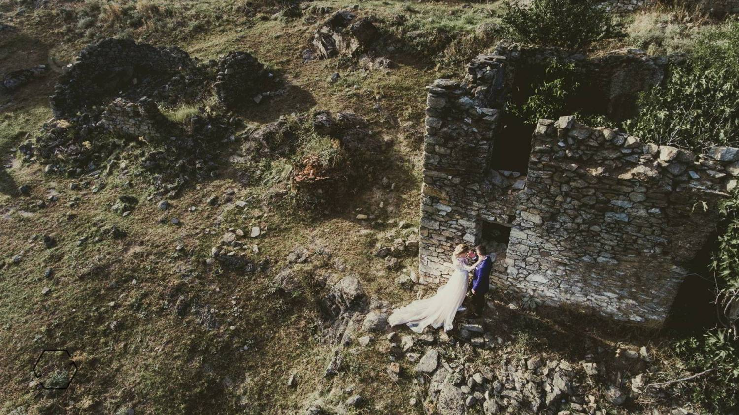 drone wedding pictures