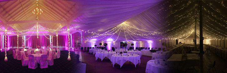 wedding venue lighting event lighting