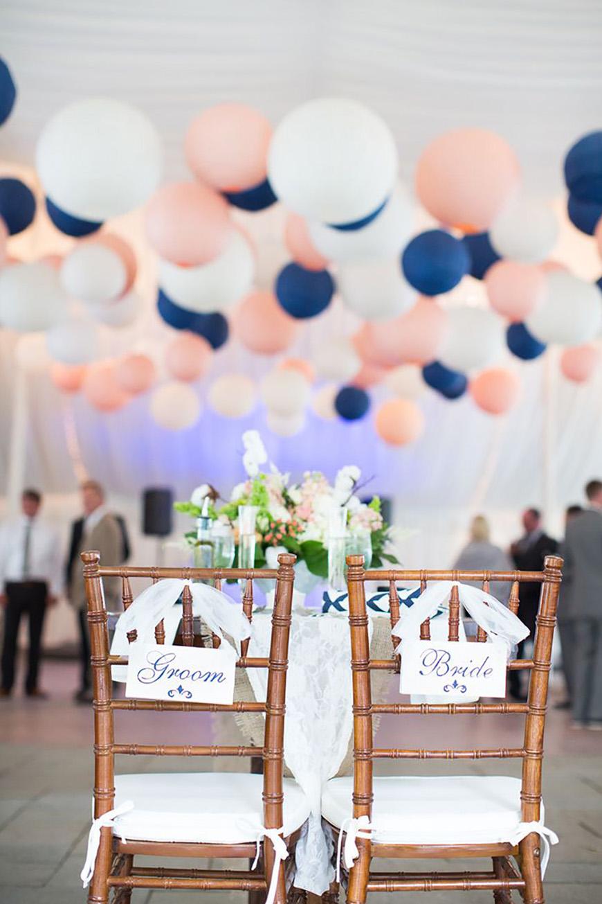Navy and Blush Wedding Theme  Wedding Ideas By Colour  CHWV