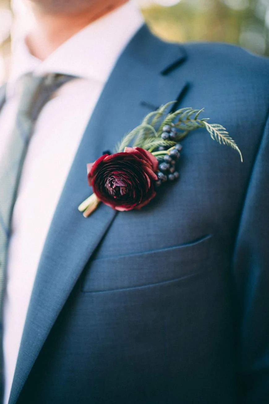 Red Grooms Accessories Wedding Ideas By Colour CHWV