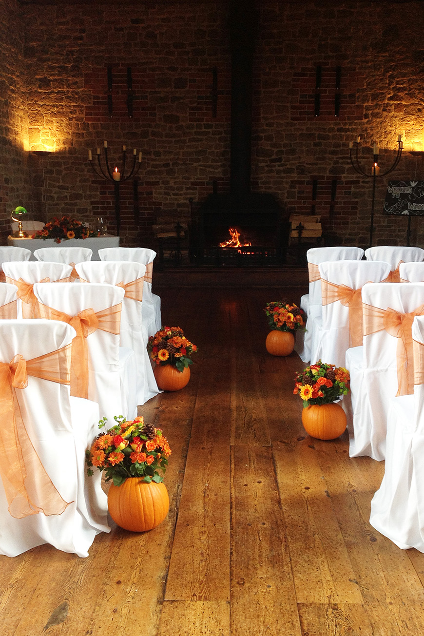 Pumpkin Wedding Ideas