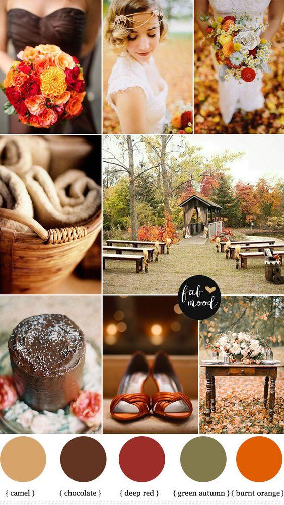 Autumn Colour Schemes Brown  CHWV