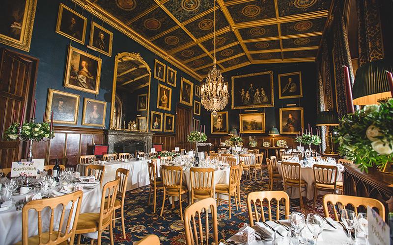 Castle Wedding Venues Herefordshire Eastnor Castle Chwv