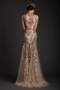 Gold Wedding Dresses | CHWV