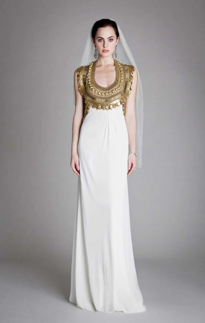 Gold Wedding Dresses  CHWV