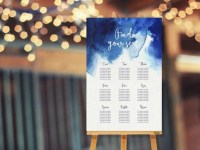 Blue Wedding Table Plans | Wedding Ideas | CHWV