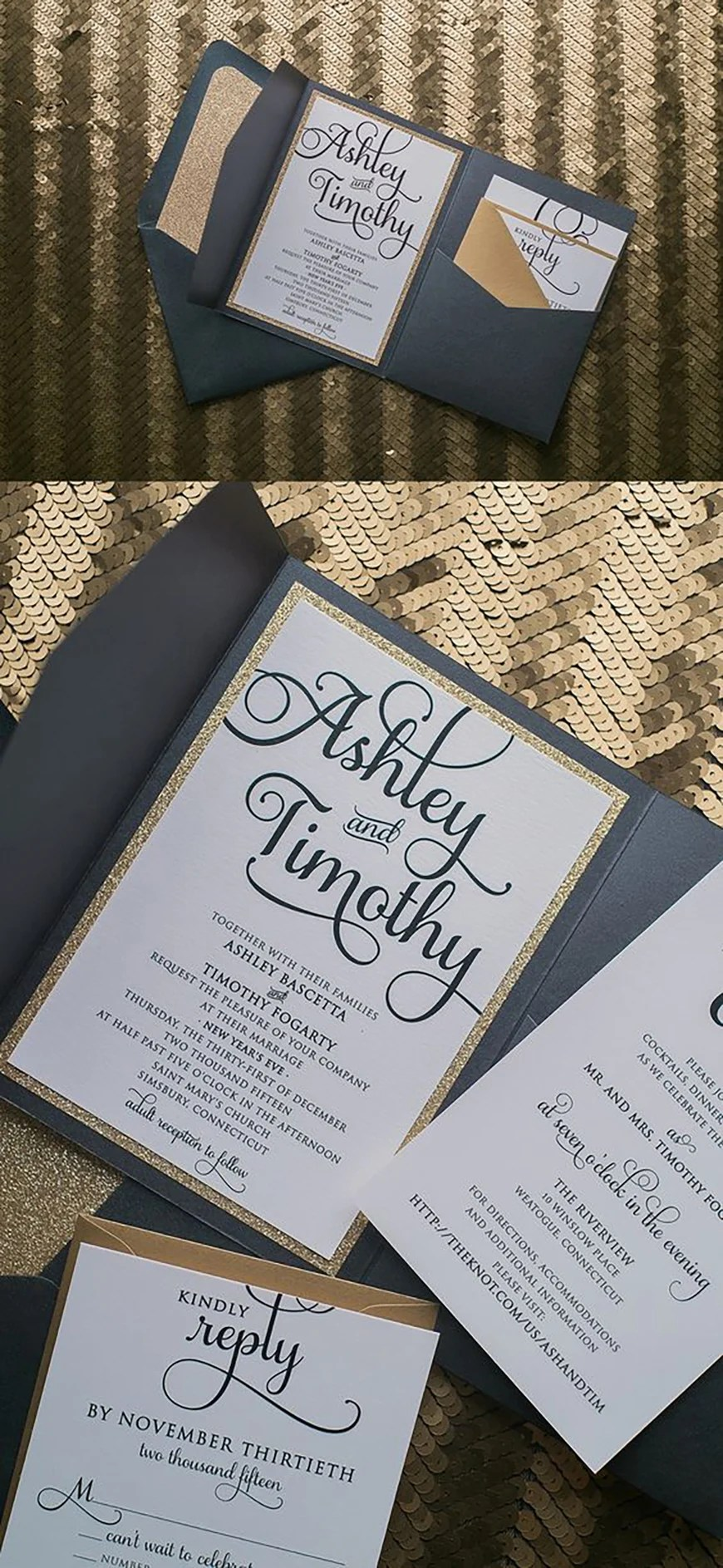 Evening Wedding Invitations Wedding Invitation Wording