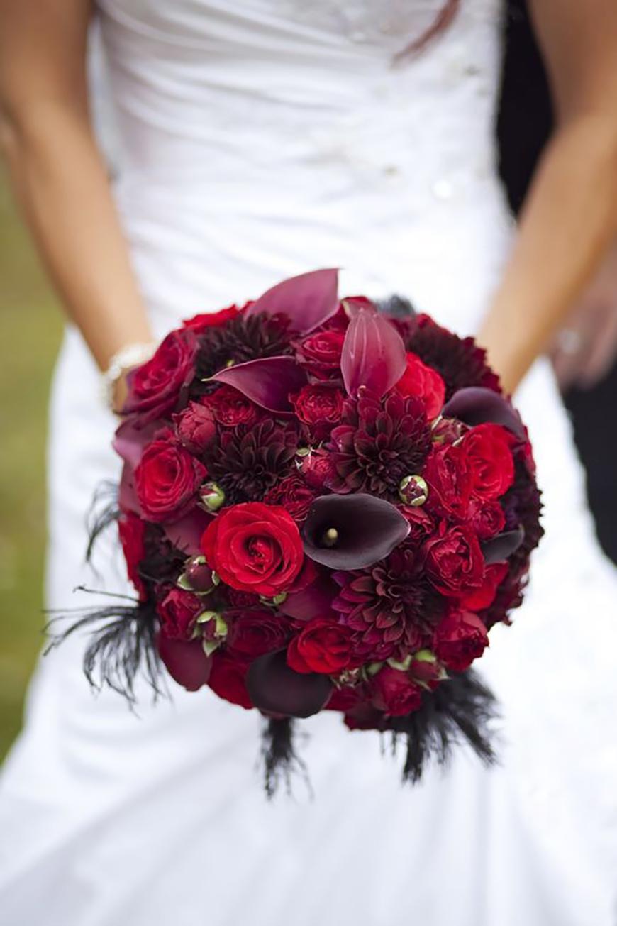 24 Beautiful Winter Wedding Flowers  CHWV