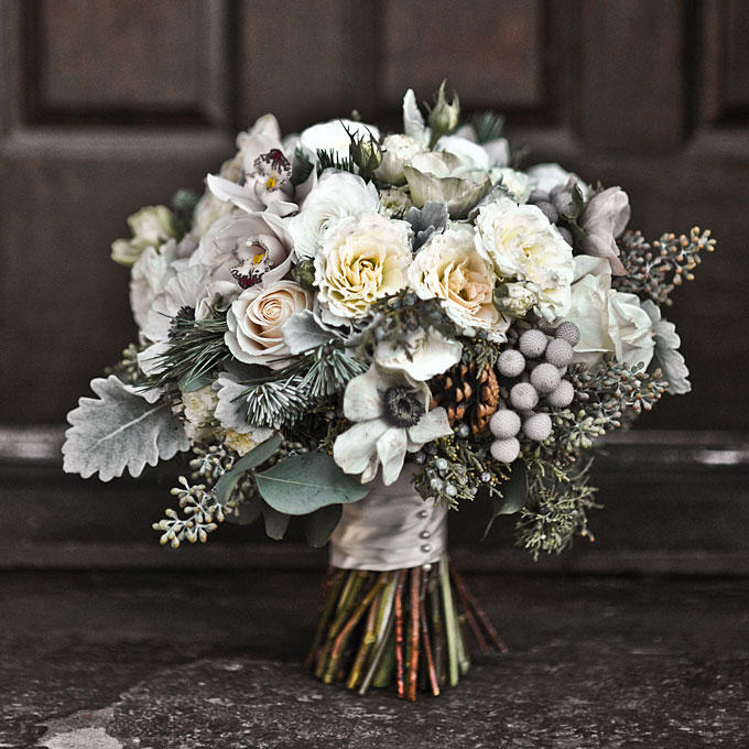 In season Our top winter wedding bouquets