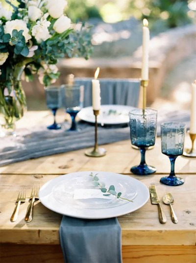 Navy and Gold Wedding Theme | Wedding Ideas By Colour | CHWV