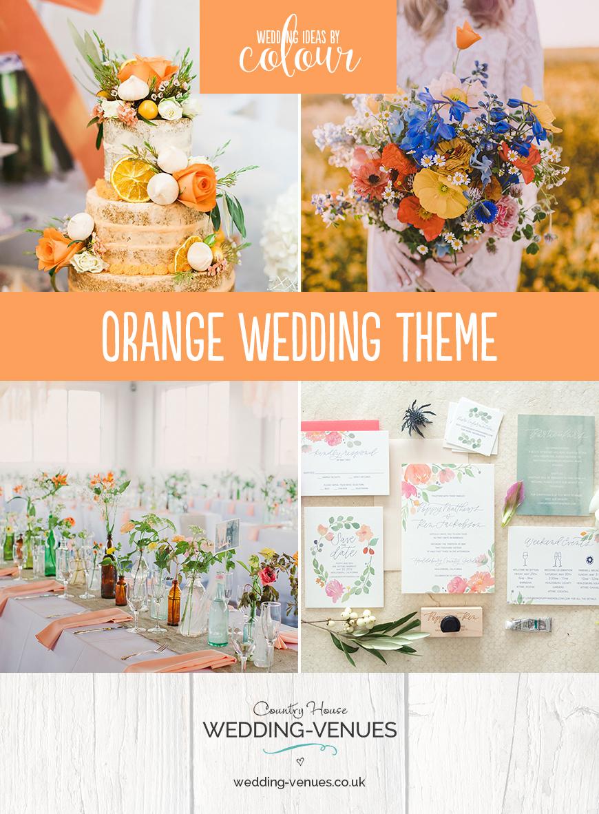 Orange Wedding Theme Wedding Ideas By Colour Chwv