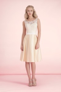 Wedding ideas by colour: pastel yellow bridesmaid dresses ...
