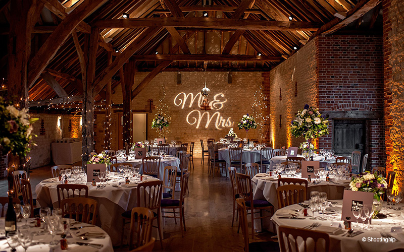 Barn Wedding Venues Surrey  The Barn at Bury Court  CHWV