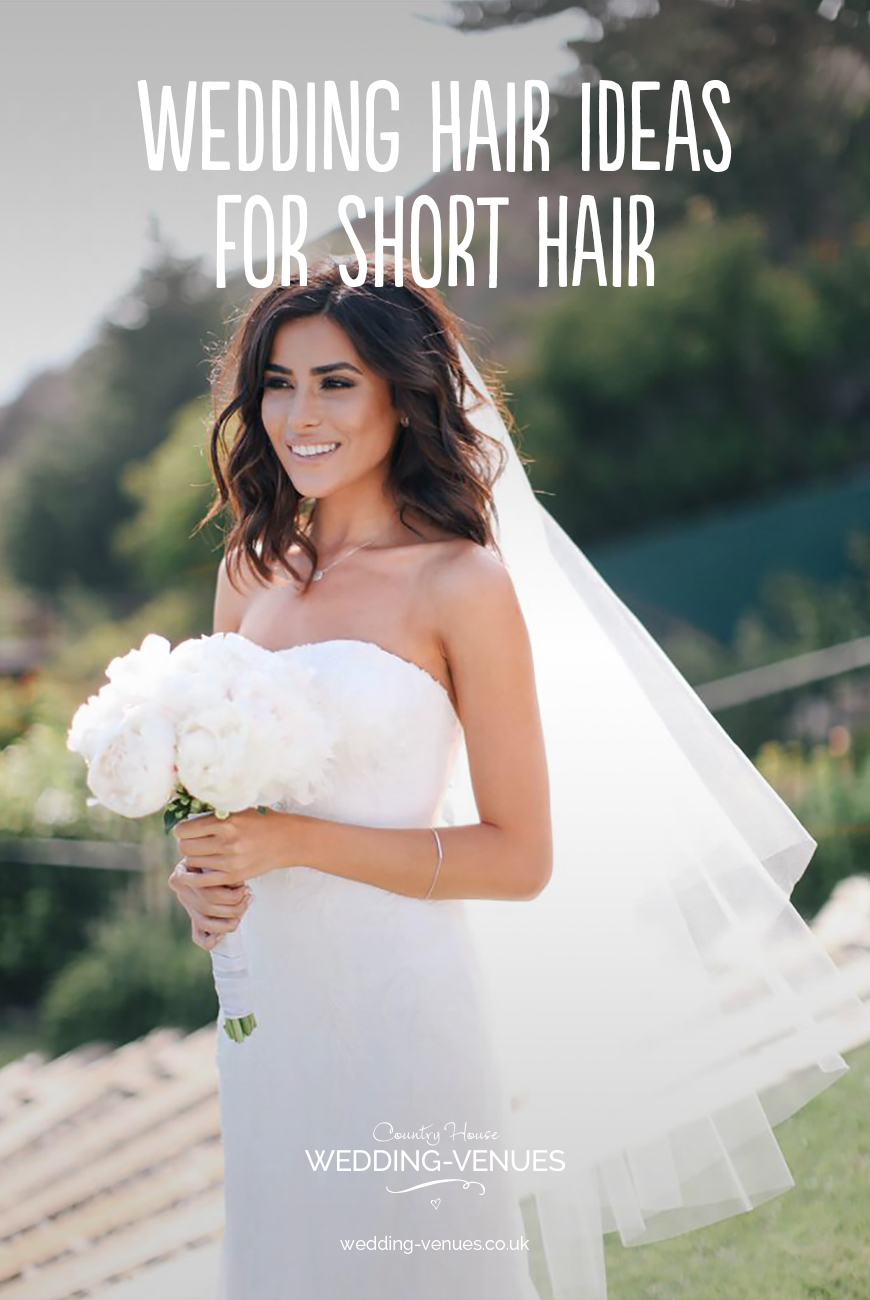 Wedding Hairstyles For Short Hair  CHWV