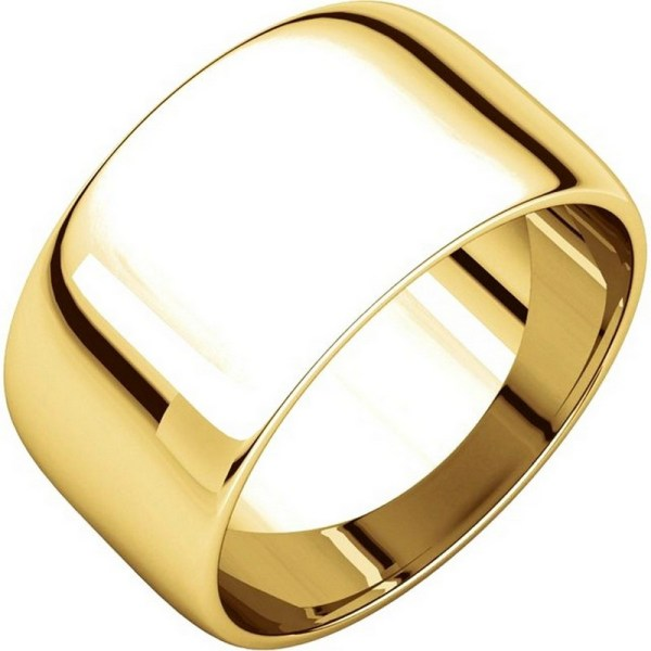 11683110 14k Gold 10mm Wedding Rings