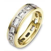 14774W Diamond Eternity Ring 14K Gold