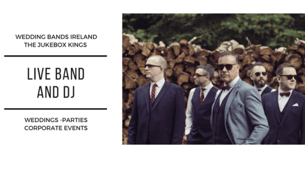 Irish Wedding Band - The Jukebox Kings Wedding Music Band