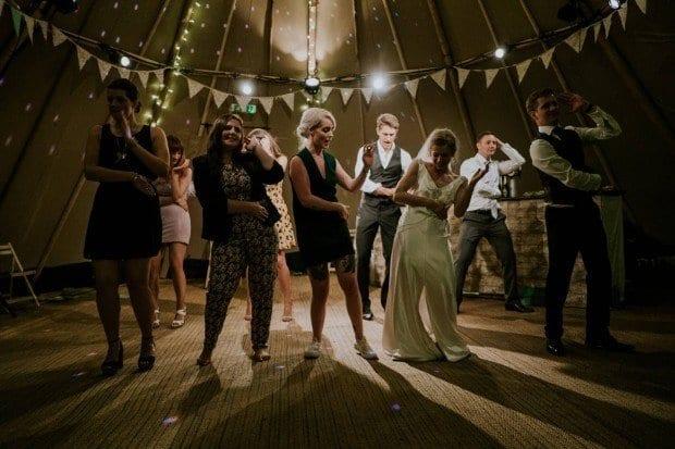 Bride Dancing The Jukebox Kings - Wedding Bands Ireland
