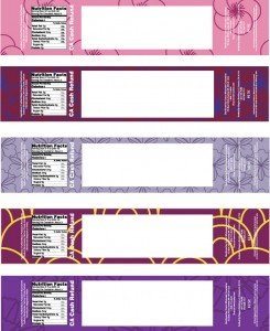 Mrs. Lemon's A Template for an Easy Way to Dress Up Water :  wedding diy templates favors waterbottle Z16076902 z16076902