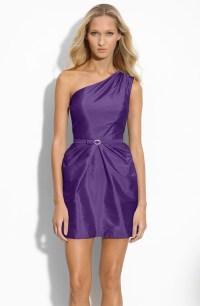 Nordstrom purple bridesmaid dress | Weddingbells