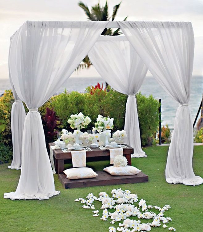 28 Outdoor Wedding Decoration Ideas Weddingbells