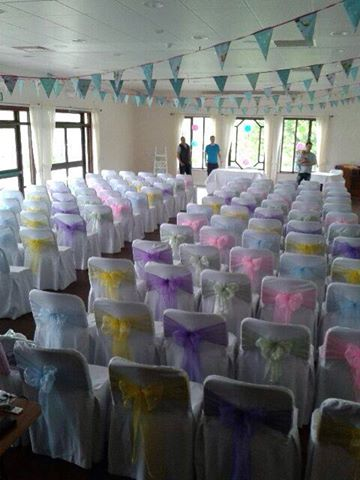 how to make a chair cover for wedding swing olx islamabad covered in style hire service based plymouth diy covers and sashes sash