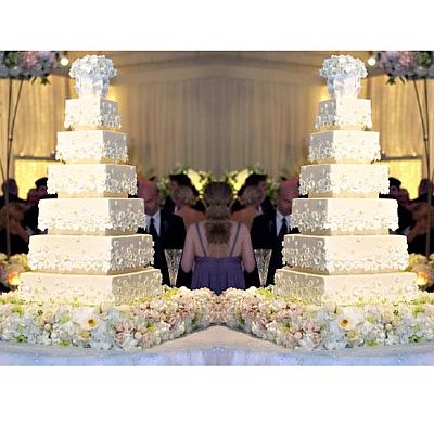 Kim Kardashian's Wedding Cake
