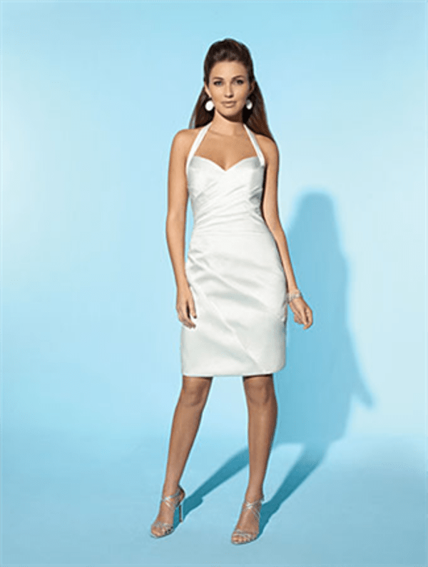 Little White Dress By Alfred Angelo