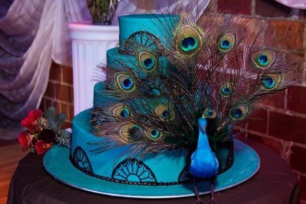 Peacock Themed Wedding _5