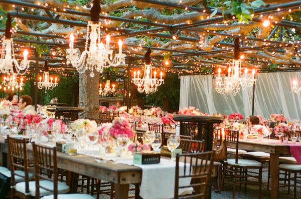 Wedding Chandeliers Outdoor Garden Crystal 10
