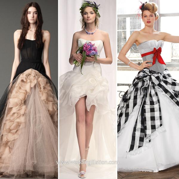 Alternative Wedding Dresses  WeddingElation