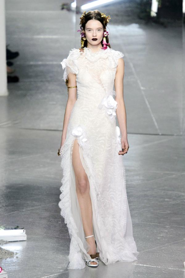 Wedding Dress Inspiration From New York Fashion Week Fall 2016  WeddingElation