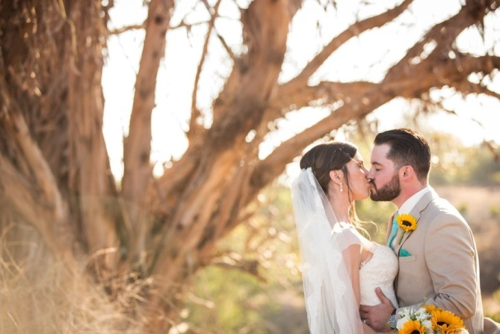 Rustic and Robins Egg Blue California Barn Wedding