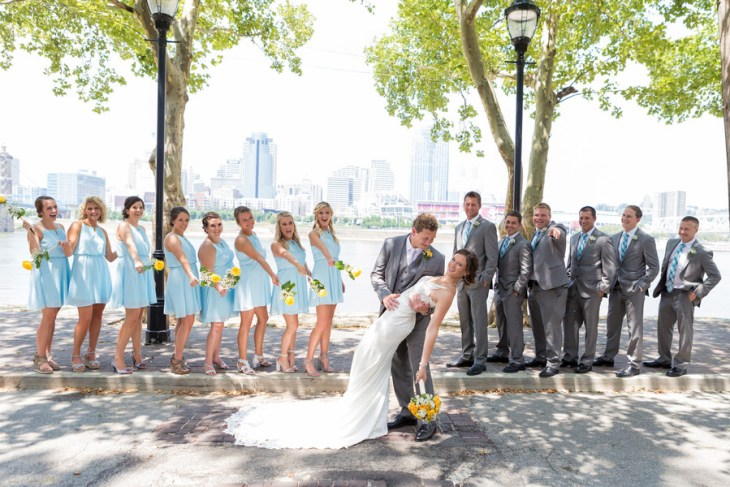 Modern Cincinnati Wedding