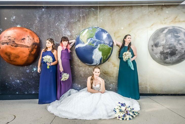 Astronomy Themed Wedding